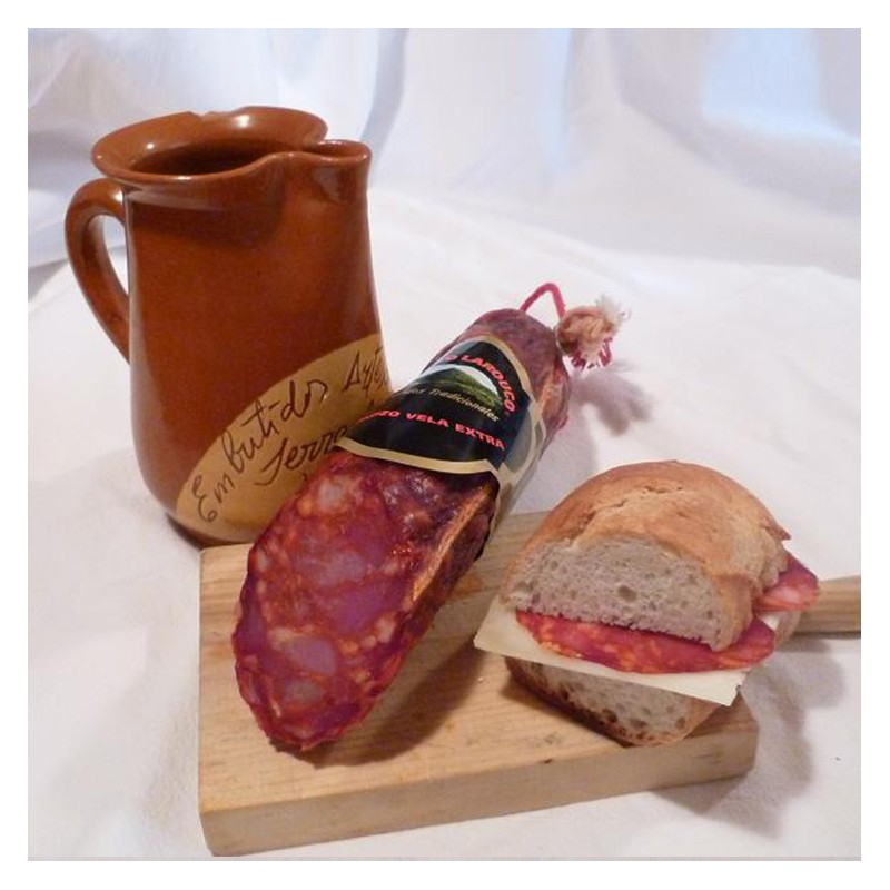 Chorizo vela(media pieza)